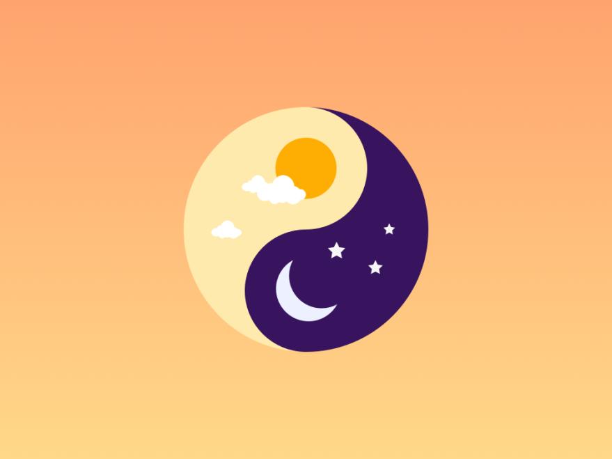 Yin Yang Day Night